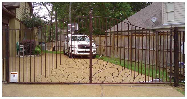 At ASAP Garage Door U0026 Gate Company, We Specialize In The Design,  Installation And Repair Of Your Iron Gates, Fences And Ornamental Railings.